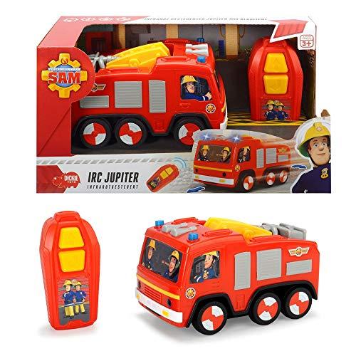 Feuerwehrmann Sam - IRC Auto Feuerwehrauto Jupiter Infrarotgesteuert & Licht*
