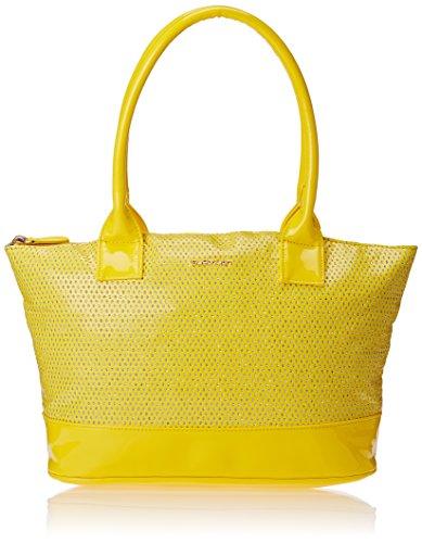 Sugarush Glitz Women's Tote Bag Handbag (Yellow)