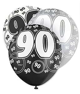 30,5cm Ballons en latex anniversaire, Lot de 6