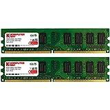 Komputerbay KB 8GBDDR2 - Memoria RAM de 8 GB (DDR2, 2 x 4 GB, 667 MHz, 240-pin)