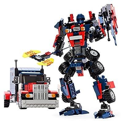 Vortex Toys Transform Series Building Blocks Mini Figures