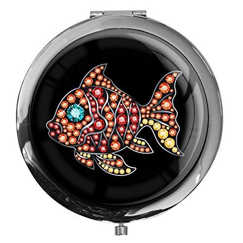espejo-de-bolsillo-en-la-forma-rendonda-pez