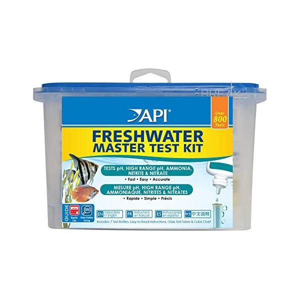 API 800 Test Freshwater Aquarium Water Master Test Kit