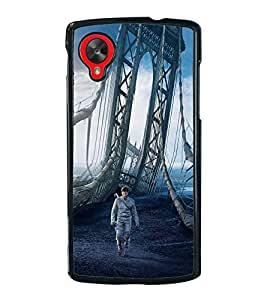 Fiobs Designer Back Case Cover for LG Nexus 5 :: LG Google Nexus 5 :: Google Nexus 5 (Awards Ar Artistic Owl Birld Dance Singer)