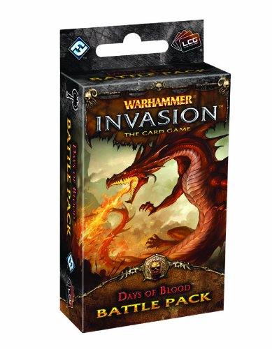Warhammer Invasion Lcg: Days Of Blood - Juego de rol Warhammer (Fantasy Flight Games FFGWHC35), español