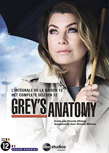 Coffret grey's anatomy, saison 12 [FR Import]