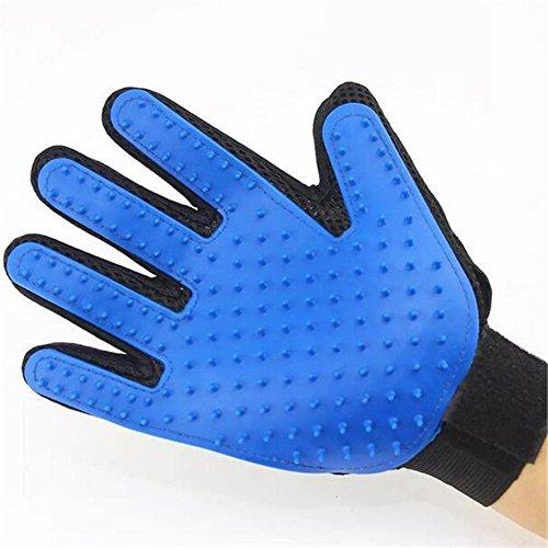 hönheit Bad Massage Handschuhe Pinsel Haar Kamm Hund Katze Kaninchen Schildkröte - Haarentfernung Pinsel - Nur Rechte Hand ()