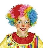 Guirca Perücke Clown für Kinder, Multicolor (4621)