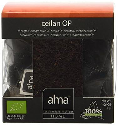 ALMA Ceylan Op Thé Noir Bio 15 Pyramides 30 g