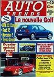 AUTO TRENDS [No 40] du 01/09/1997 - LA NOUVELLE GOLF - BMW 323 TO COMPACT - SAAB 9 -...