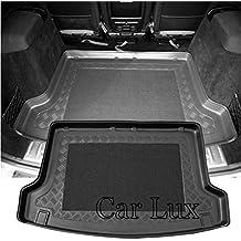 Car Lux AR01811 - Alfombra Bandeja Cubeta Protector cubre maletero a medida con antideslizante