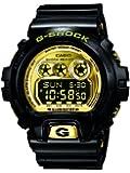 Casio - GD-X6900FB-1ER - G-Shock - Montre Homme - Quartz Digital - Cadran Doré - Bracelet Résine Noir