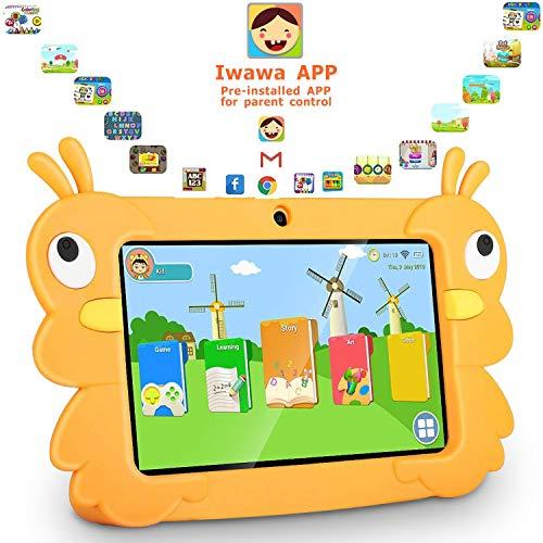 tablet dragon touch Dragon Touch Tablet per Bambini 7 Pollici 32 GB Rom Android 6 Wi-Fi e Bluetooth IPS HD 1024*600 Quad Core Kidoz e Google Play preinstallato con Kid-Proof Custodia (G7.)