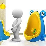 #3: TiedRibbons Frog Children Potty Toilet Training Kids Urinal for Boys Pee Trainer Bathroom