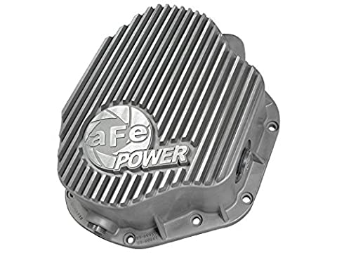 aFe Power 46-70030 Dodge Diesel Rear Differential Cover (Raw;Street Series)