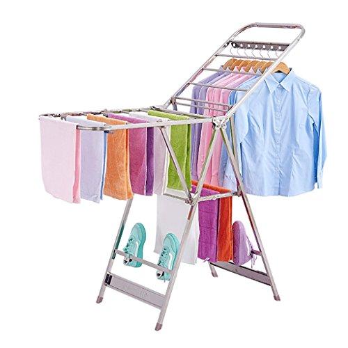 Klapp Kleiderständer, Boden Balkon Trockengestelle, Innen-und Außen Kleiderbügel, Baby-Kleiderständer