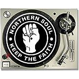 Northern Soul–mantener la FE DJ Slipmats Tocadiscos/Slip Mats X 2