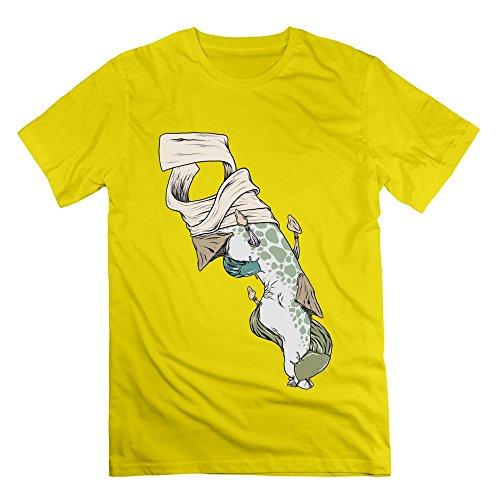 Sophie Warner Herren T-Shirt Gr. M, Gelb - (Supplies Party Dead Walking)