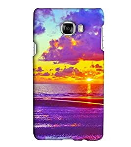 EagleHawk Designer 3D Printed Back Cover for Samsung Galaxy C7 - D850 :: Perfect Fit Designer Hard Case