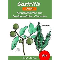 Gastritis - Box. 4 Bücher in einer Box. Die 20 besten Mittel zur Selbstbehandlung mit Homöopathie. Magen-Darm-Beschwerden natürlich heilen. Selbsthilfe bei Magenschleimhautentzündung oder Reizmagen