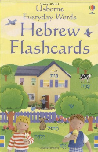 Everyday Words Flashcards: Hebrew