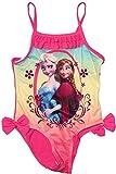 Disney Frozen - Die Eiskönigin Badeanzug (128, Pink-Grün)