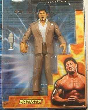 Sponsei WWE Jakks Batista Ruthless Aggression 17.5 Figure