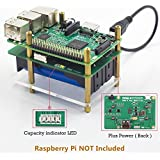 SunFounder Raspberry Pi 4000mAh 5V/2A Lithium Battery Power Pack Expansion Board-Plus Power Module For Raspberry Pi 3