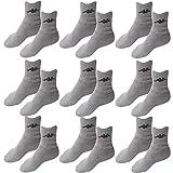 9 Paar Socken Kappa Farbe Grau Größe 43 - 46 Tennissocken Strümpfe Arbeitssocken Herrensocken Socke