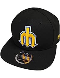 cab70fa24d32 New Era Seattle Mariners Cooperstown Classics Snapback Cap Black 9fifty 950  Limited Special Edition