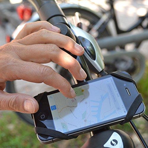 Rubberman Universal Fahrrad Smartphone-Halterung - 3