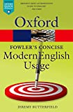 Fowler's Concise Dictionary of Modern English Usage (Oxford Quick Reference) (English Edition)