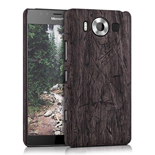 kwmobile-etui-rigide-design-bois-vintage-pour-microsoft-lumia-950-en-brun-fonce