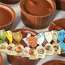 Praline senza liquore - Confezione mista da 10 cioccolatini - 200 g