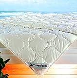 Revital Baumwolle Bettdecke Sommer, 200x200 Leichtsteppbett Füllung und Bezug: 100% Baumwolle