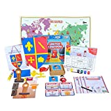 Learning Toys for Kids - United Kingdom Activity Kit from Globetrotters (6+ years)