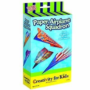 Creativity for Kids Paper Airplane Squadron Mini Kit
