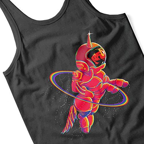 Unicorn Astronaut Men's Vest Black