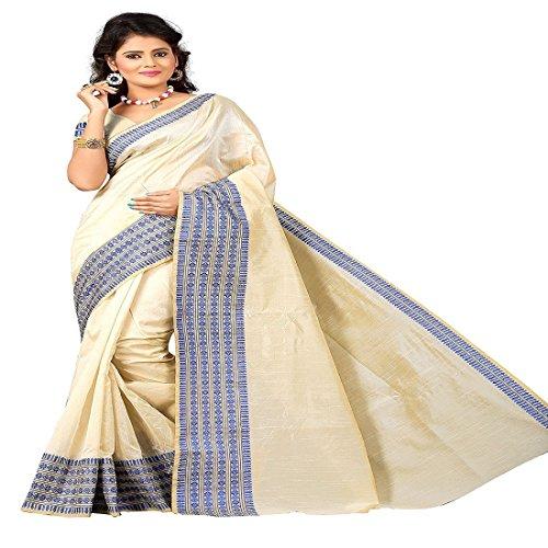 Cotton Silk Saree ( Nandita Blue_Saree & Sari_Blue )