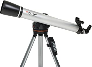 Celestron LCM 80 Refractor Telescope (Silver)