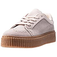 The Womens Creeper from CARDOUNO combines a Synthetic upper with a durable Rubber sole. These Trainers feature Lace-up fastening, cushioned insole and Synthetic lining. Finished with CARDOUNO branding, the style P38-20BEIGE comes in a Beige colourway...