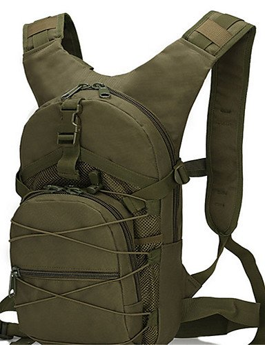 HWB/ 15L L Tourenrucksäcke/Rucksack Camping & Wandern / Klettern Draußen / Leistung Feuchtigkeitsundurchlässig / tragbar / Multifunktions army green