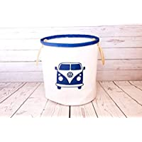 Sailcloth Storage/Toy Bucket - Handmade from recycled sailcloth