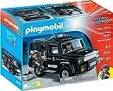 Playmobil- City Action Giocattolo Mezzo dell'unità Speciale, Colore Nero, 5674