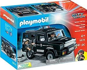 Playmobil-City Action Vehículo Táctico, A partir de 4 años, 5674