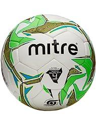 Nebula Futsal 32P - Ballon de Foot Blanc/Pourpre/Argent