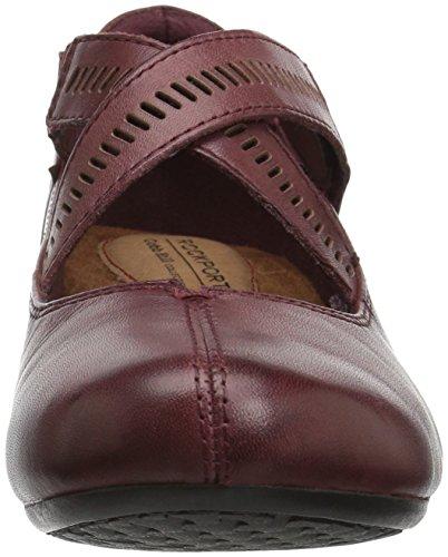 Rockport - Chaussures Janet-Ch pour femme Merlot Lthr