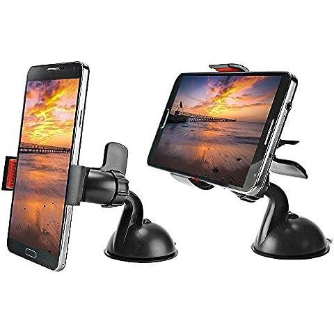Supporto da auto, joymod girevole Custodia per GPS a ventosa per parabrezza supporto per iPhone Samsung