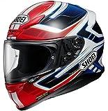 Shoei NXR Valkyrie Motorcycle Helmet M Red Blue (TC-1)