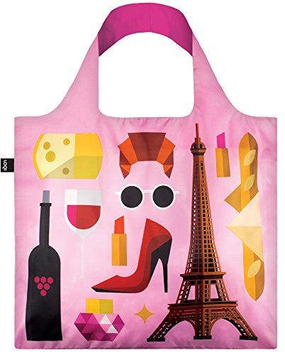 Preisvergleich Produktbild LOQI Bag HEY Paris: 50 x 42cm